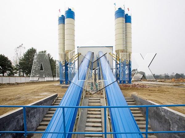 Стационарнный бетонный завод