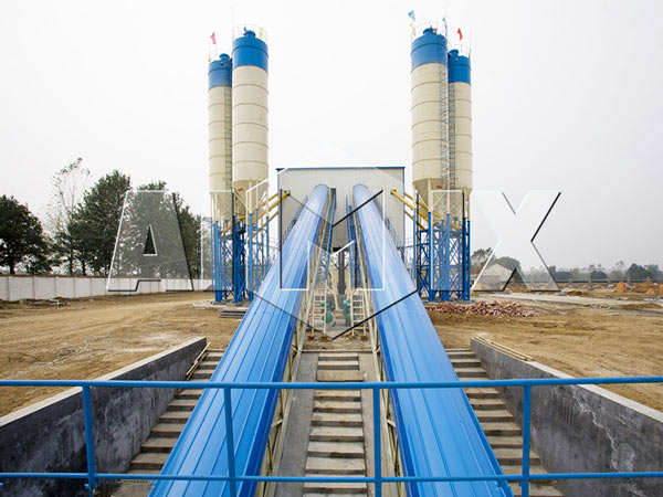 Стационарные бетоносмесительные заводы