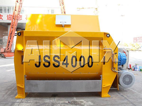 JSS4000 Двухвальный бетоносмеситель