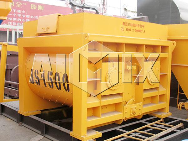 JS1500 Двухвальный бетоносмеситель