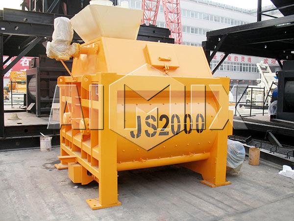 JS2000 Двухвальный бетоносмеситель