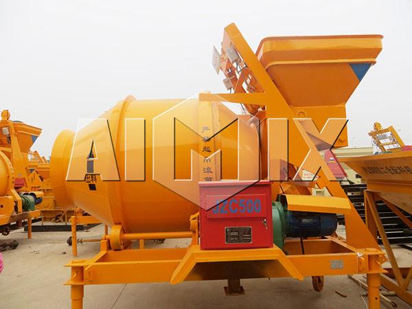 JZC500 Барабанный бетоносмеситель