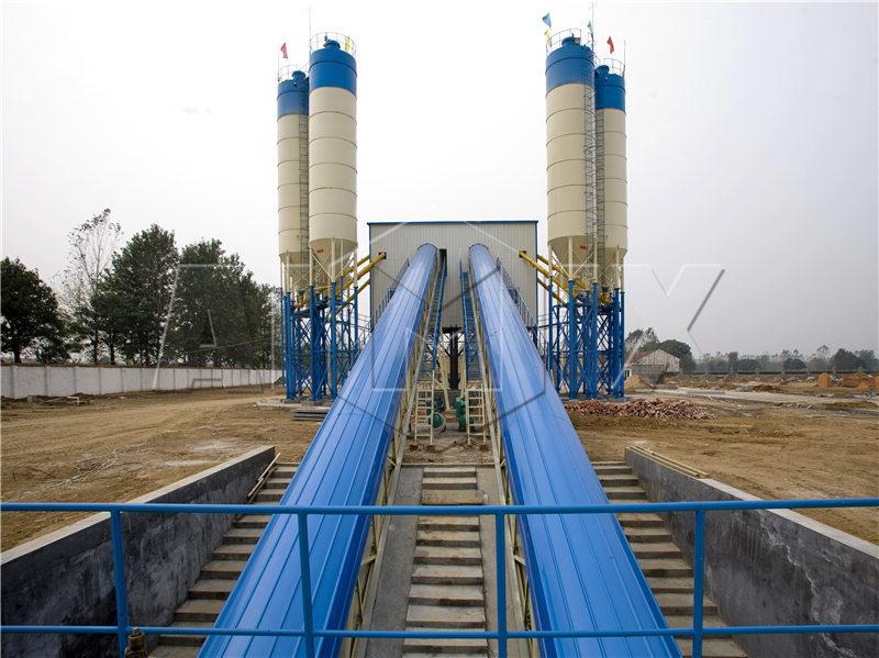 2 HZS бетонный завод
