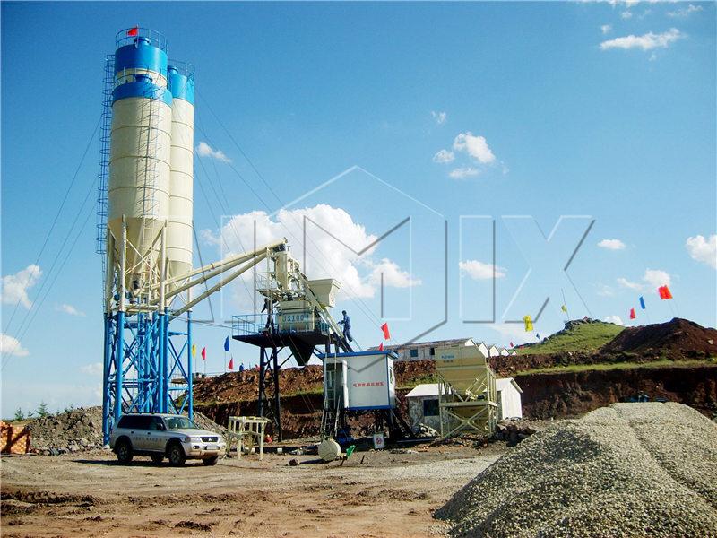 hzs-50 бетонный завод