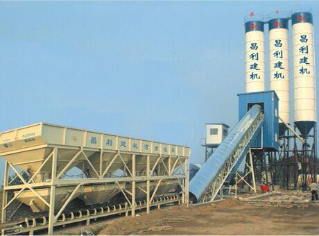 HZS90-бетонный-завод