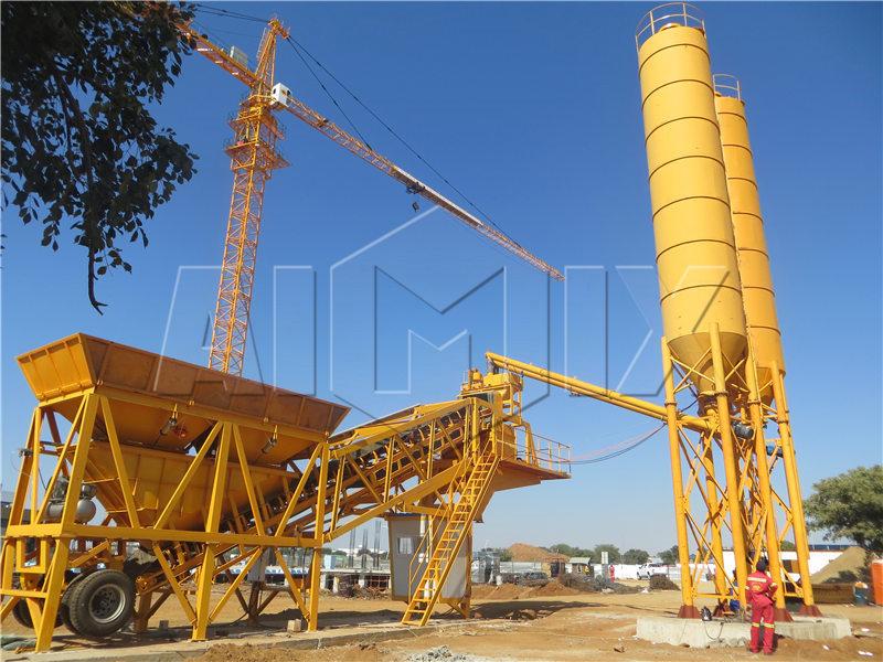 YHZS35-мобильный-бетонный-завод