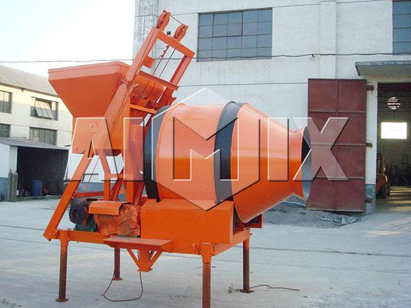 JZM500-Барабанная бетономешалка