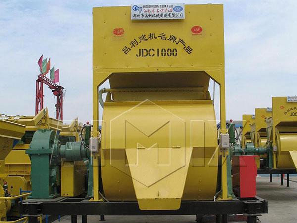 JDC1000-стациональный-бетоносмеситель