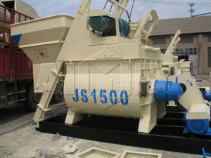 JS1500-двухвальный-бетоносмеситель