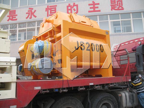 JS2000-двухвальный-бетоносмеситель