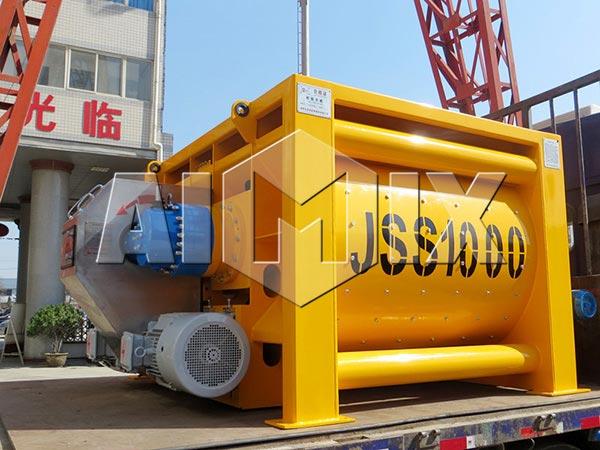 JSS1000-бетономешалка-принудительного-типа