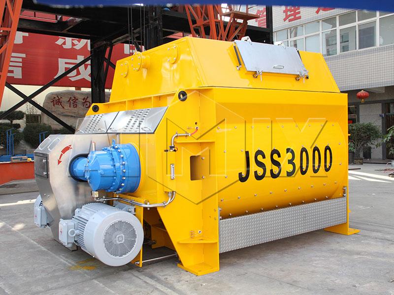 JSS3000-Горизонтальный-бетоносмеситель