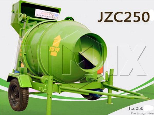 JZC250Барабанная бетономешалка