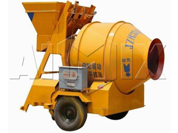 JZM350Портативный бетоносмеситель