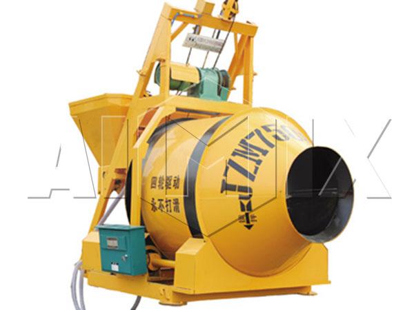 JZM750 барабанный бетоносмеситель