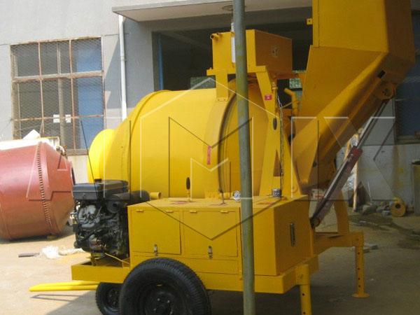 Дизельный бетоносмеситель JZR500