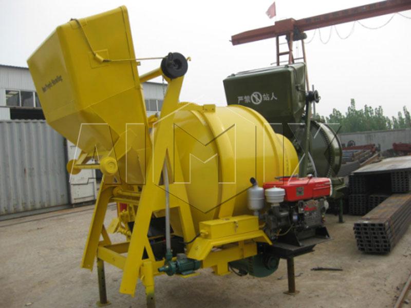 дизельный-бетоносмеситель-JZR-350