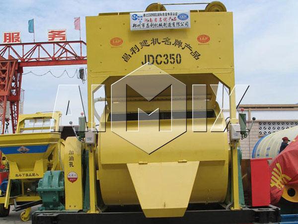 Горизонтальный-бетоносмеситель-JDC-350