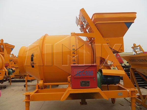 Гравитационный бетоносмеситель JZC500