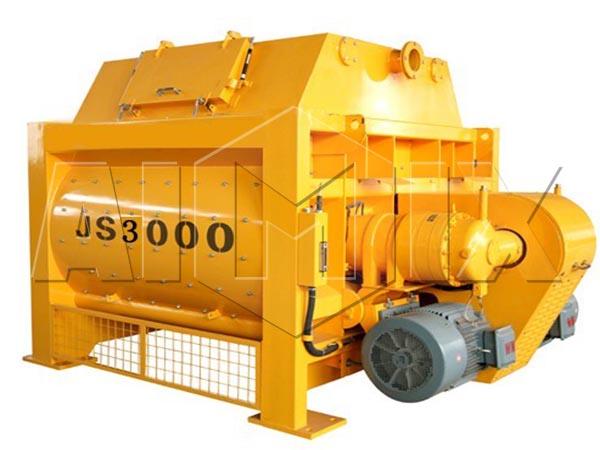 Двухвальный бетоносмеситель JS3000