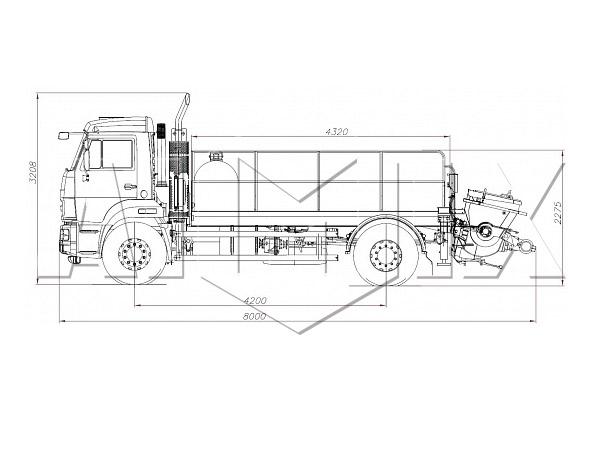 конструкция линейного бетононасоса-1