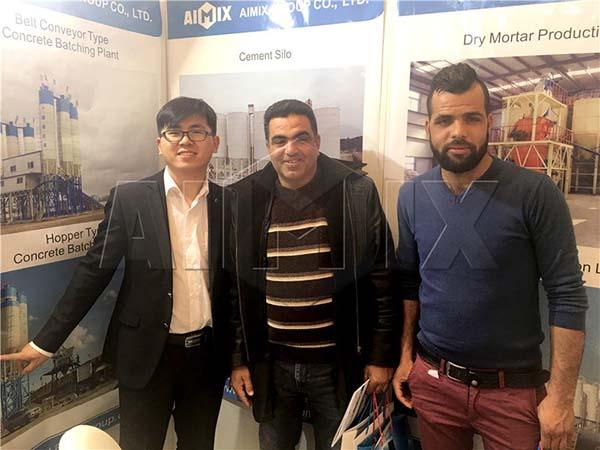 Наша компания AIMIX участвовала в тунисской выставке
