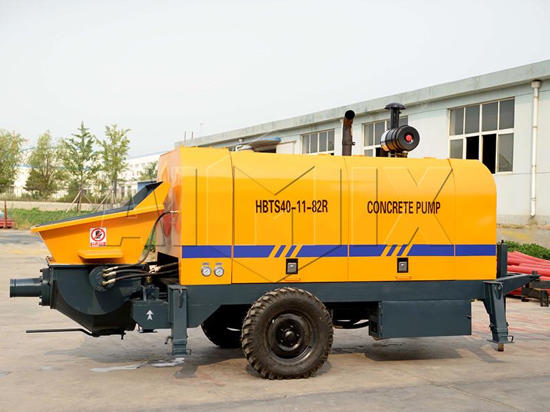 дизельный-бетононасос-HBTS40-11-82R