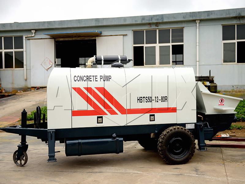 дизельный-бетононасос-HBTS50-12-80R