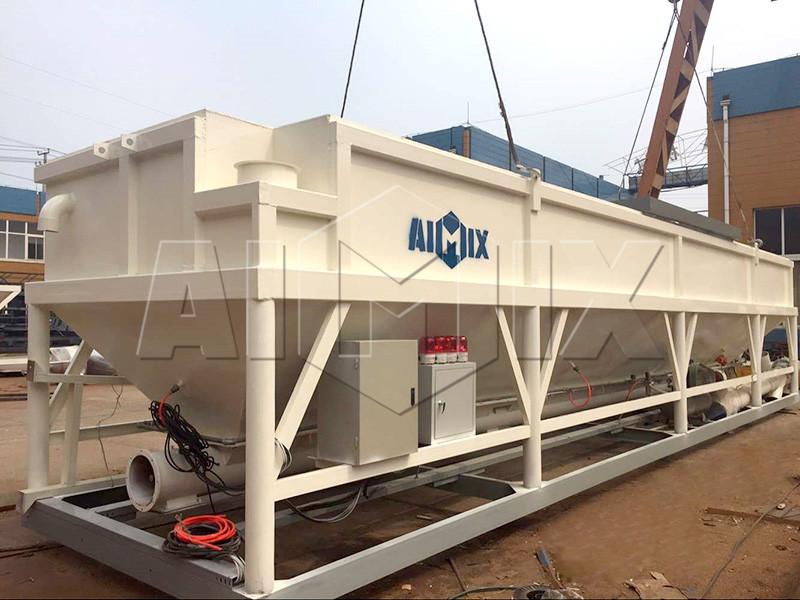 AIMIX-экспортировалась-горизонтальный-цементный-силос-в-Австралии