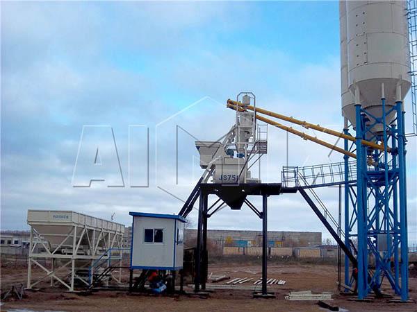 HZS35 мини бетонный завод