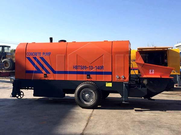 HBTS60-13-90 дизельный бетононасос в Вьетнам