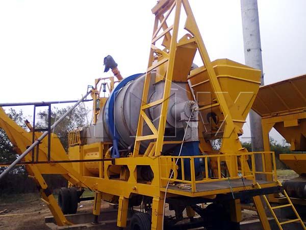 Портативный асфальтовый завод