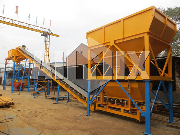 Сухой бетонный завод