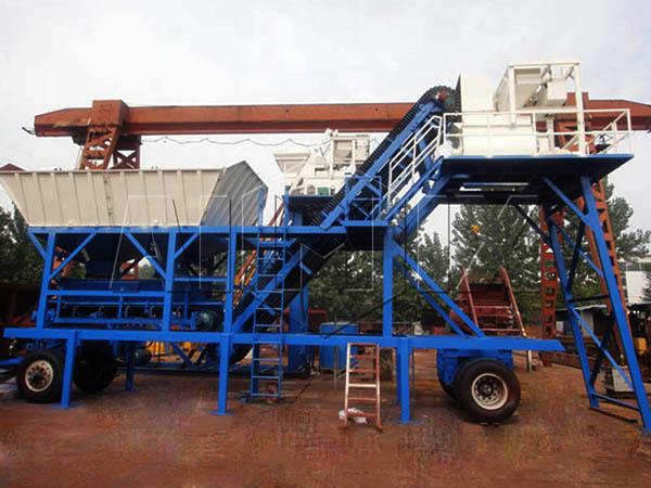 YHZS25 продам мобильный бетонный завод