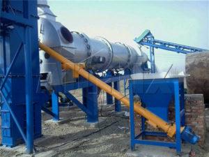 мини асфальтобетонный завод DHB60