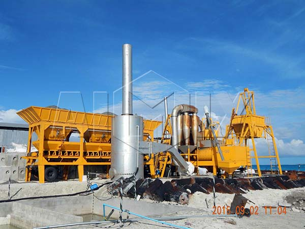 Мобильный асфальтобетонный завод AIMIX со скидкой из Киатя