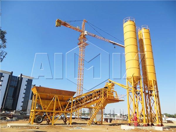 мобильные бетонные мини заводы