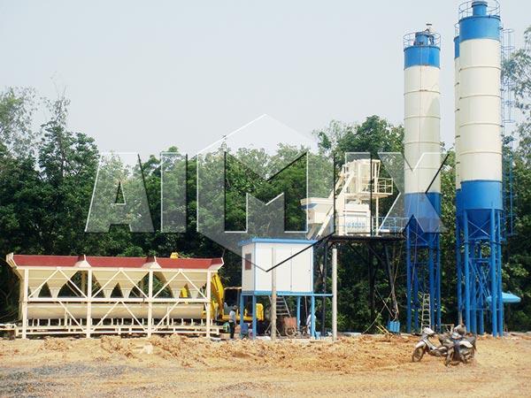 AIMIX HZS быстровозводимый бетонный завод