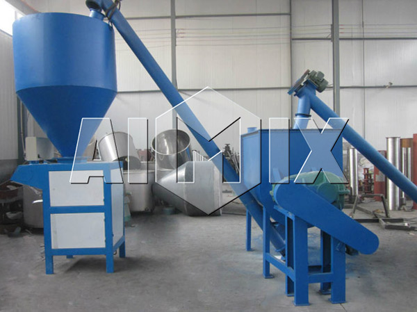 AIMIX простой завод по производству сухих строительных смесей