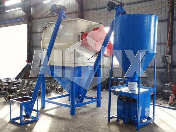 Детали AIMIX оборудования для производства сухих строительных смесей