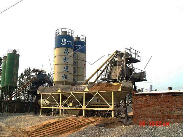HZS25 малый бетонный завод