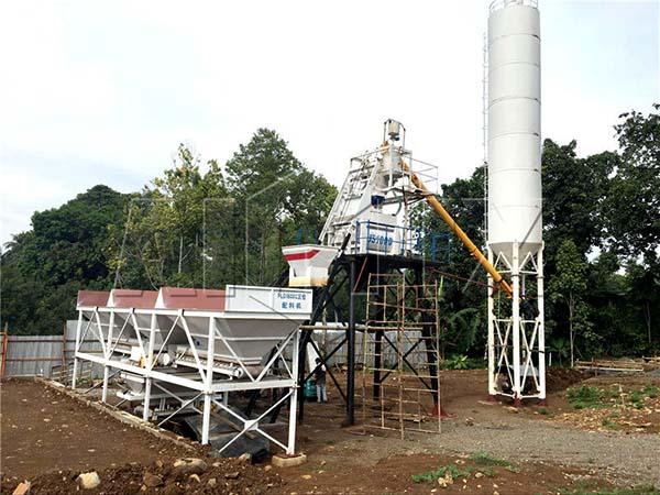 HZS50 небольшие бетонные заводы