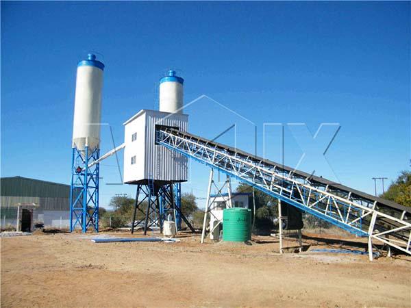 крупные бетонные заводы HZS60