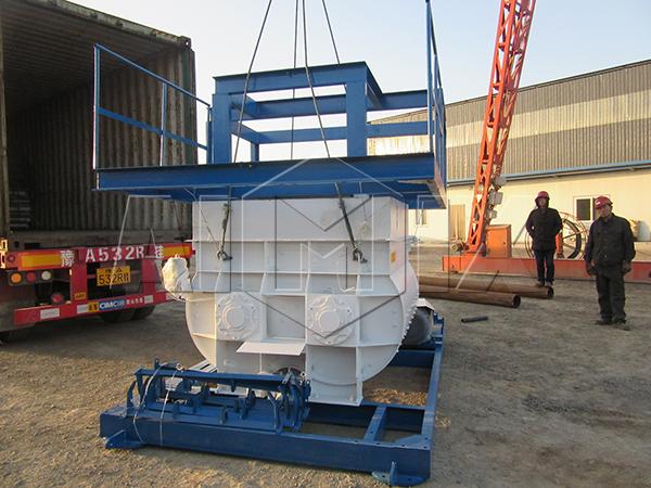 двухвальные бетономешалки