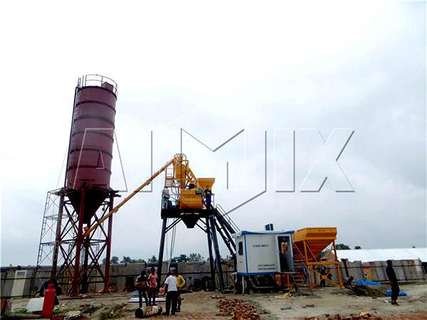 мини завод по производству бетона