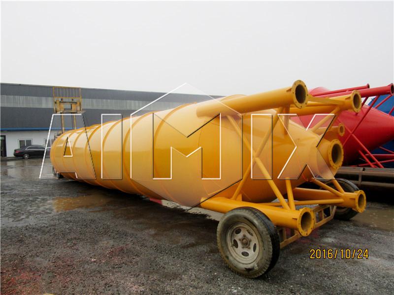 цементный сило сварного тип транспортировалась в Узбекистан