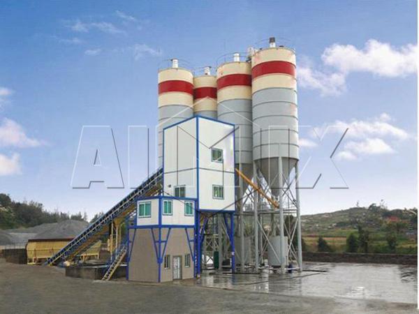 завод по смешиванию бетонных смесей