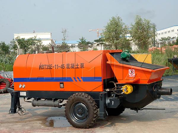 HBT35 мини бетононасос