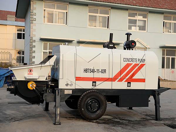 HBTS40-11-82R бетононасос дизельный