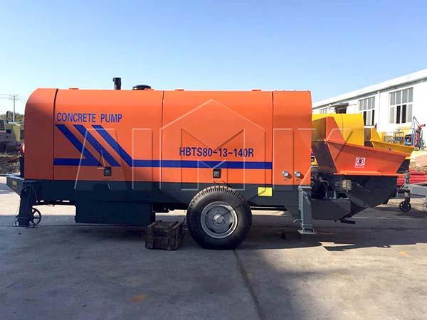 HBTS80-SR дизельный бетононасос купить